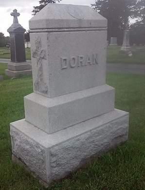 DORAN, FAMILY MONUMENT - Clinton County, Iowa   FAMILY MONUMENT DORAN