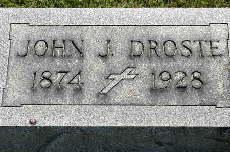 DROSTE, JOHN JOSEPH - Clinton County, Iowa | JOHN JOSEPH DROSTE