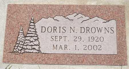 DROWNS, DORIS N. - Clinton County, Iowa | DORIS N. DROWNS