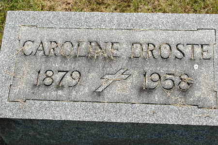 MANEMANN DROSTE, ANNA MARIE (CAROLINE) - Clinton County, Iowa   ANNA MARIE (CAROLINE) MANEMANN DROSTE