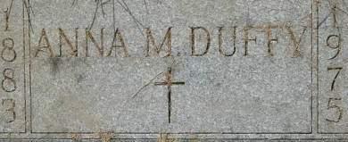 DUFFY, ANNA M. - Clinton County, Iowa   ANNA M. DUFFY