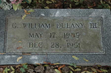 DULANY, G. WILLIAM III - Clinton County, Iowa | G. WILLIAM III DULANY