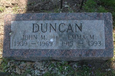 DUNCAN, JOHN M. - Clinton County, Iowa   JOHN M. DUNCAN