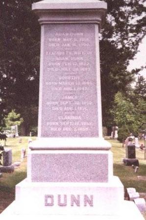 DUNN, ELIZABETH CRAWSHAW - Clinton County, Iowa | ELIZABETH CRAWSHAW DUNN