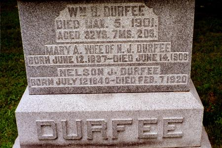 DURFEE, WILLIAM B. - Clinton County, Iowa | WILLIAM B. DURFEE