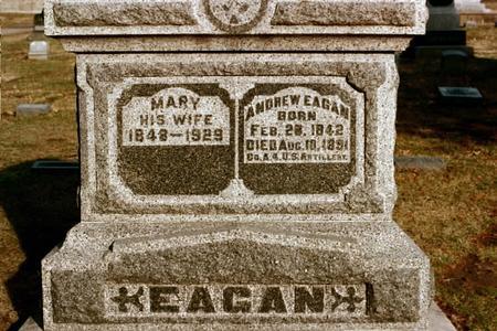 EAGAN, MARY - Clinton County, Iowa | MARY EAGAN