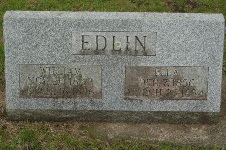 EDLIN, ELLA - Clinton County, Iowa | ELLA EDLIN