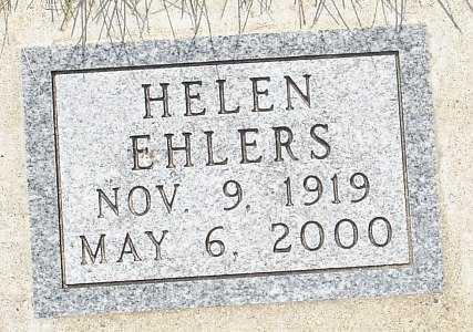 EHLERS, HELEN - Clinton County, Iowa | HELEN EHLERS