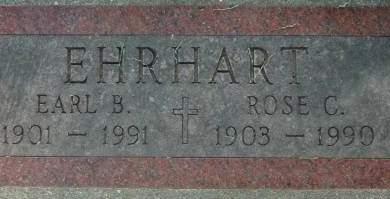 EHRHART, ROSE C. - Clinton County, Iowa   ROSE C. EHRHART