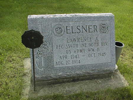 ELSNER, LAWRENCE A. - Clinton County, Iowa   LAWRENCE A. ELSNER