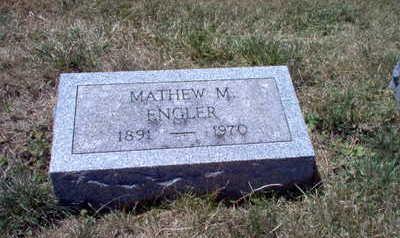 ENGLER, MATHEW  M. - Clinton County, Iowa   MATHEW  M. ENGLER