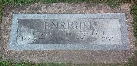 ENRIGHT, LEO E. - Clinton County, Iowa | LEO E. ENRIGHT