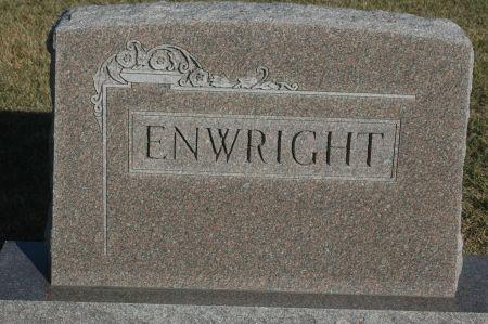 ENWRIGHT, FAMILY MONUMENT - Clinton County, Iowa | FAMILY MONUMENT ENWRIGHT