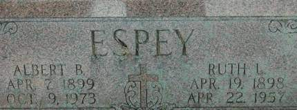 ESPEY, ALBERT B. - Clinton County, Iowa | ALBERT B. ESPEY