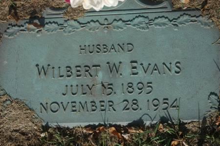 EVANS, WILBERT W. - Clinton County, Iowa | WILBERT W. EVANS