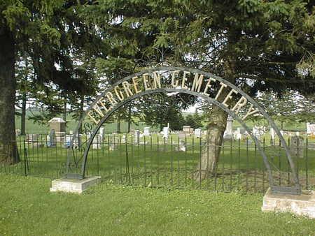 EVERGREEN (DELMAR), CEMETERY - Clinton County, Iowa | CEMETERY EVERGREEN (DELMAR)