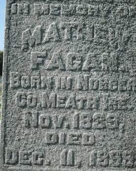 FAGAN, MATHEW - Clinton County, Iowa | MATHEW FAGAN