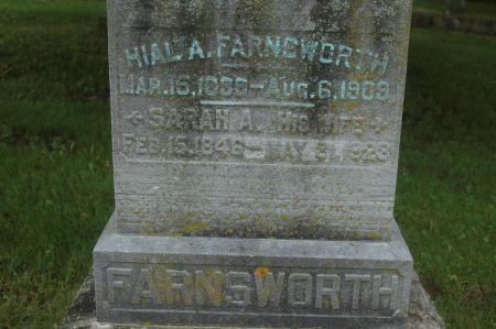 FARNSWORTH, SARAH A. - Clinton County, Iowa | SARAH A. FARNSWORTH