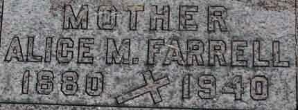 FARRELL, ALICE M. - Clinton County, Iowa | ALICE M. FARRELL