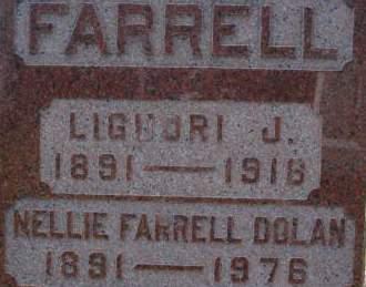 FARRELL, LIGUORI J. - Clinton County, Iowa   LIGUORI J. FARRELL