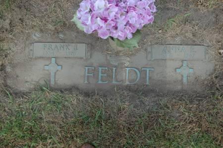 FELDT, ANNA E. - Clinton County, Iowa   ANNA E. FELDT