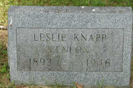 FENLON, LESLIE KNAPP - Clinton County, Iowa | LESLIE KNAPP FENLON