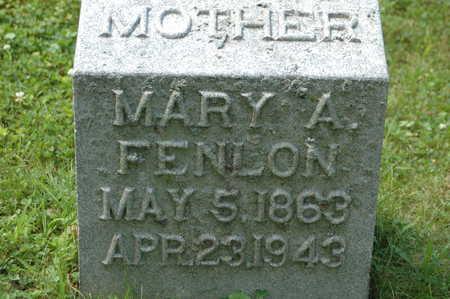 MCKENZIE FENLON, MARY AMANDA - Clinton County, Iowa   MARY AMANDA MCKENZIE FENLON