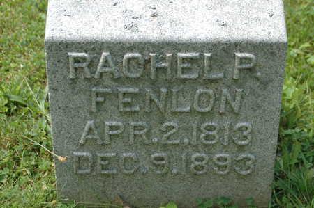 FENLON, RACHEL P. - Clinton County, Iowa | RACHEL P. FENLON