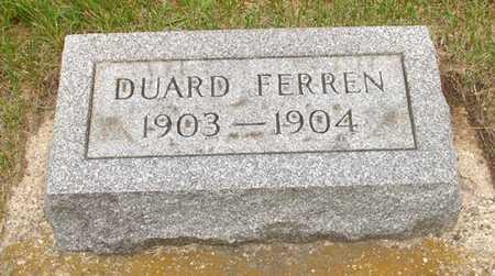 FERREN, DUARD - Clinton County, Iowa | DUARD FERREN