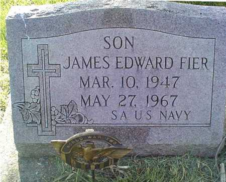 FIER, JAMES EDWARD - Clinton County, Iowa | JAMES EDWARD FIER