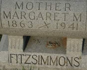 FITZSIMMONS, MARGARET M. - Clinton County, Iowa | MARGARET M. FITZSIMMONS