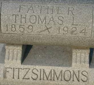 FITZSIMMONS, THOMAS L. - Clinton County, Iowa | THOMAS L. FITZSIMMONS