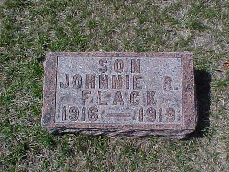 FLACK, JOHNNIE R. - Clinton County, Iowa   JOHNNIE R. FLACK