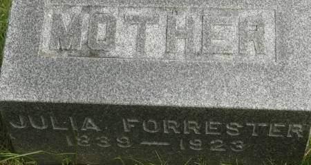 FORRESTER, JULIA - Clinton County, Iowa | JULIA FORRESTER
