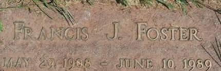 FOSTER, FRANCIS J. - Clinton County, Iowa | FRANCIS J. FOSTER