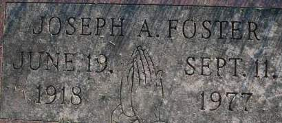FOSTER, JOSEPH A. - Clinton County, Iowa | JOSEPH A. FOSTER
