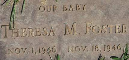FOSTER, THERESA M. - Clinton County, Iowa | THERESA M. FOSTER