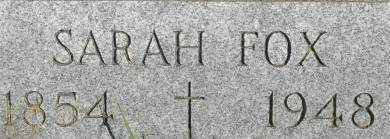 FOX, SARAH - Clinton County, Iowa | SARAH FOX