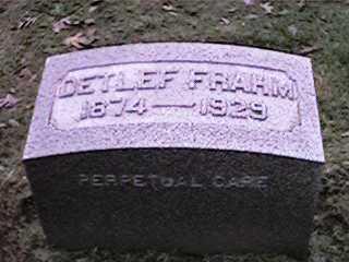 FRAHM, DETLEF - Clinton County, Iowa | DETLEF FRAHM