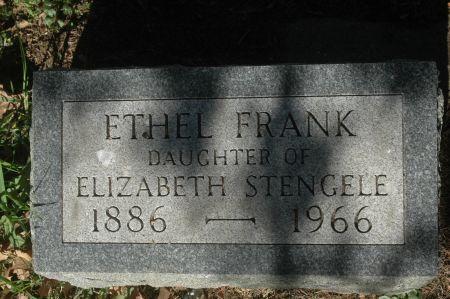 FRANK, ETHEL - Clinton County, Iowa | ETHEL FRANK