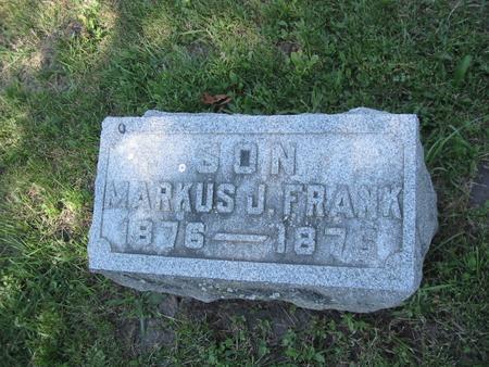 FRANK, MARKUS - Clinton County, Iowa | MARKUS FRANK
