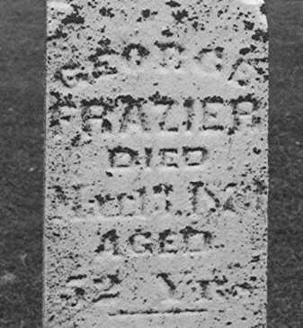 FRAZIER, GEORGE - Clinton County, Iowa   GEORGE FRAZIER
