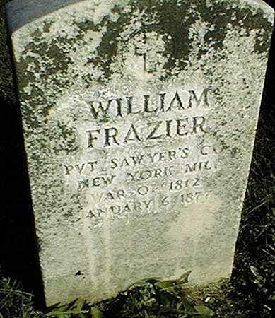FRAZIER, WILLIAM - Clinton County, Iowa | WILLIAM FRAZIER