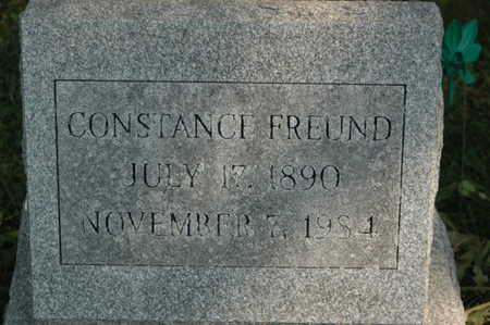 FREUND, CONSTANCE - Clinton County, Iowa | CONSTANCE FREUND