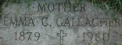 GALLAGHER, EMMA C. - Clinton County, Iowa | EMMA C. GALLAGHER