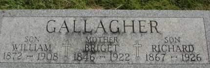 GALLAGHER, WILLIAM - Clinton County, Iowa   WILLIAM GALLAGHER