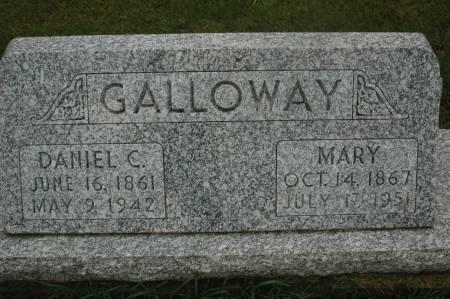 GALLOWAY, DANIEL C. - Clinton County, Iowa   DANIEL C. GALLOWAY
