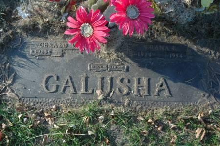 GALUSHA, FRANA E. - Clinton County, Iowa | FRANA E. GALUSHA