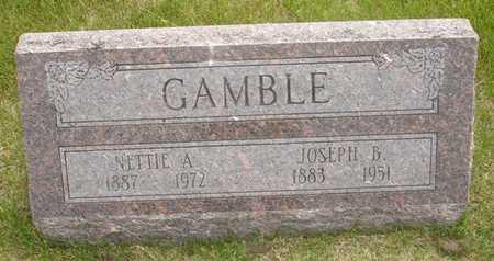 GAMBLE, NETTIE A. - Clinton County, Iowa | NETTIE A. GAMBLE