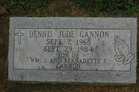 GANNON, DENNIS JUDE - Clinton County, Iowa | DENNIS JUDE GANNON